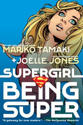 Supergirl: Being Super(book-cover)