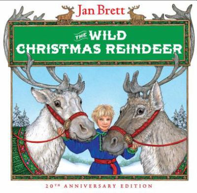 Cover image for The wild Christmas reindeer