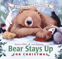 Cover image for Bear stays up for Christmas