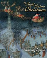 Cover image for The night before Christmas