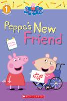 Cover image for Peppa Pig. Peppa's new friend / adapted by Michael Petranek.