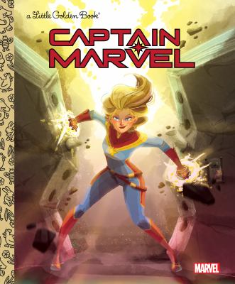 Cover image for Captain Marvel / by John Sazaklis ; illustrated by Penelope R. Gaylord.