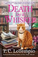 Cover image for Death by a whisker : a Cat Rescue Mystery / T.C. LoTempio.