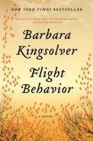 Cover image for Flight behavior [kit] / Barbara Kingsolver.