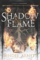 Cover image for Shadow & flame / Mindee Arnett.