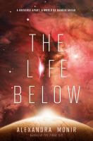 Cover image for The life below / Alexandra Monir.