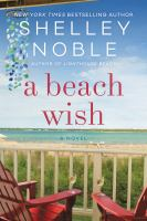 Cover image for A beach wish / Shelley Noble.