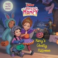 Cover image for Nancy's ghostly Halloween / adapted by Krista Tucker ; illustrated by the Disney Storybook Art Team.