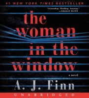 Cover image for The woman in the window [sound recording] / A. J. Finn.