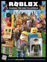 Cover image for Roblox character encyclopedia / written by Alexander Cox.