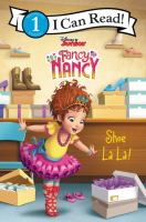 Cover image for Shoe-la-la! / adapted by Victoria Saxon, based on the episode by Laurie Israel ; illustrations by the Disney Storybook art team.
