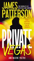 Cover image for Private Vegas [text (large print)] / James Patterson and Maxine Paetro.
