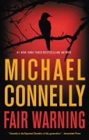Cover image for Fair warning [text (large print)] / Michael Connelly.