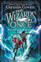 Cover image for Never and forever / written and illustrated by Cressida Cowell.