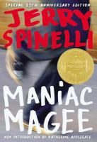 Cover image for Maniac Magee [kit] / Jerry Spinelli.