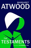 Cover image for The testaments / Margaret Atwood.