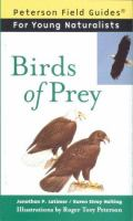 Cover image for Birds of prey / Jonathan P. Latimer & Karen Stray Nolting ; illustrations by Roger Tory Peterson ; foreword by Virginia Marie Peterson.