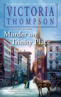 Cover image for Murder on Trinity Place / Victoria Thompson.