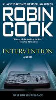 Cover image for Intervention / Robin Cook.