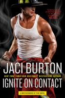 Cover image for Ignite on contact / Jaci Burton.