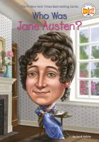Cover image for Who was Jane Austen? / Sarah Fabiny ; illustrated by Jerry Hoare.