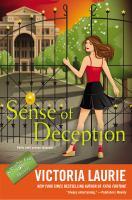 Cover image for Sense of deception / Victoria Laurie.