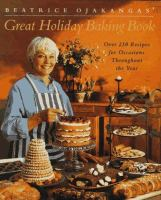 Cover image for Beatrice Ojakangas' great holiday baking book.