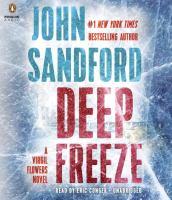 Cover image for Deep freeze [sound recording] / John Sandford.