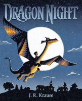 Cover image for Dragon night / J.R. Krause.