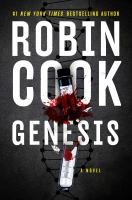 Cover image for Genesis / Robin Cook.