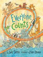 Cover image for Everyone counts / by Judy Sierra ; illustrated by Marc Brown.