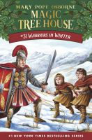 Cover image for Warriors in winter / by Mary Pope Osborne ; illustrated by AG Ford.