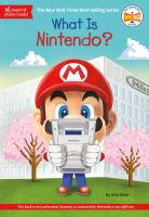 Cover image for What is Nintendo? / by Gina Shaw ; illustrated by Andrew Thomson.