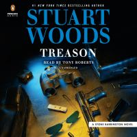 Cover image for Treason [sound recording] / Stuart Woods.