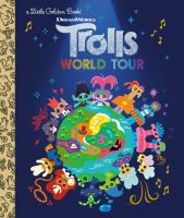 Cover image for Trolls world tour / by David Lewman ; illustrated by Priscilla Wong.