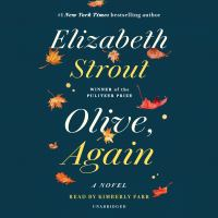 Cover image for Olive, again [sound recording] / Elizabeth Strout.
