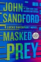 Cover image for Masked prey [text (large print)] / John Sandford.