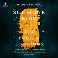 Cover image for The book of longings [sound recording] / Sue Monk Kidd.