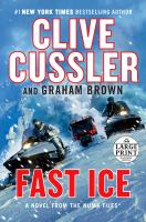 Cover image for Fast ice [text (large print)].