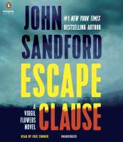 Cover image for Escape clause [sound recording] / John Sandford.
