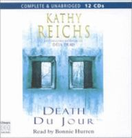 Cover image for Death du jour [sound recording] / by Kathy Reichs.