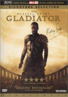 Cover image for Gladiator / Dreamworks Pictures and Universal Pictures present ; producer, Douglas Wick, David Franzoni, Branko Lustig ; director, Ridley Scott ; writer, David Franzoni ; screenwriter, David Franzoni, John Logan.