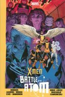 Cover image for X-Men : Battle of the atom / writer, Brian Michael Bendis ; artist, Frank Cho.