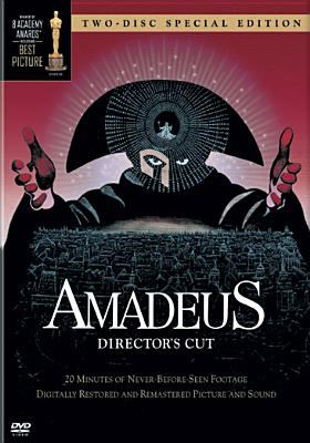Cover image for Amadeus / [presented by] the Saul Zaentz Company ; original stage play and screenplay by Peter Shaffer ; produced by Saul Zaentz ; directed by Milos Forman.