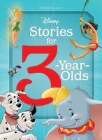 Cover image for Disney stories for 3-year-olds.