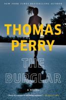 Cover image for The burglar / Thomas Perry.