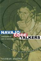Cover image for Navajo code talkers / Nathan Aaseng.