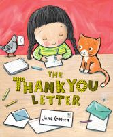 Imagen de portada para The thank you letter / Jane Cabrera.