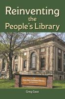 Cover image for Reinventing the people's library / Greg Gaut.