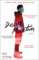 Cover image for Dear Martin / Nic Stone.